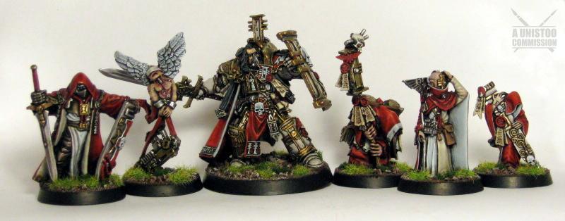 Daemonhunters, Forge, Headquarters, Hector, Henchmen, Inquisitor, Retinue, Rex, Terminator Armor, Warhammer 40,000, World
