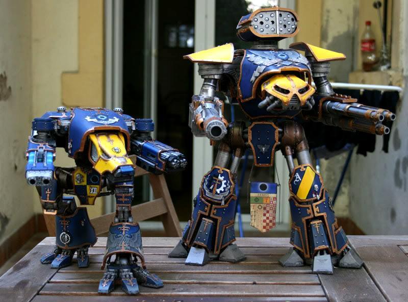 Adeptus Mechanicus, Forge World, Mars Pattern, Reaver, Skitarii, Titan, Warhammer 40,000, Warhound, Warp Runners
