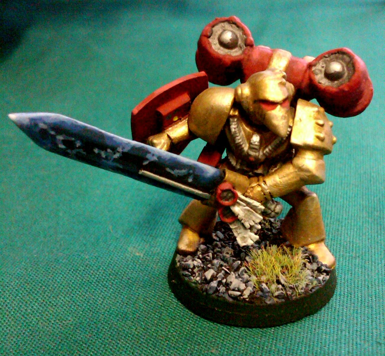 Beakie, Jetpack, Power Sword, Rogue Trader, Space Marines