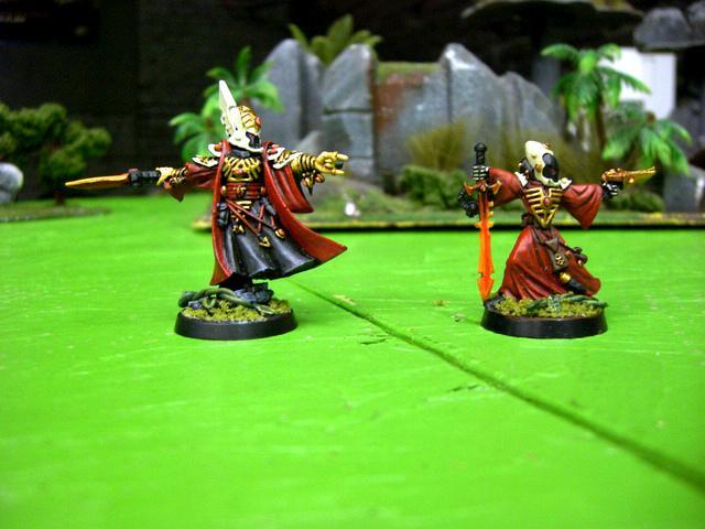 Craftworld, Eldar, Farseer, Warlock