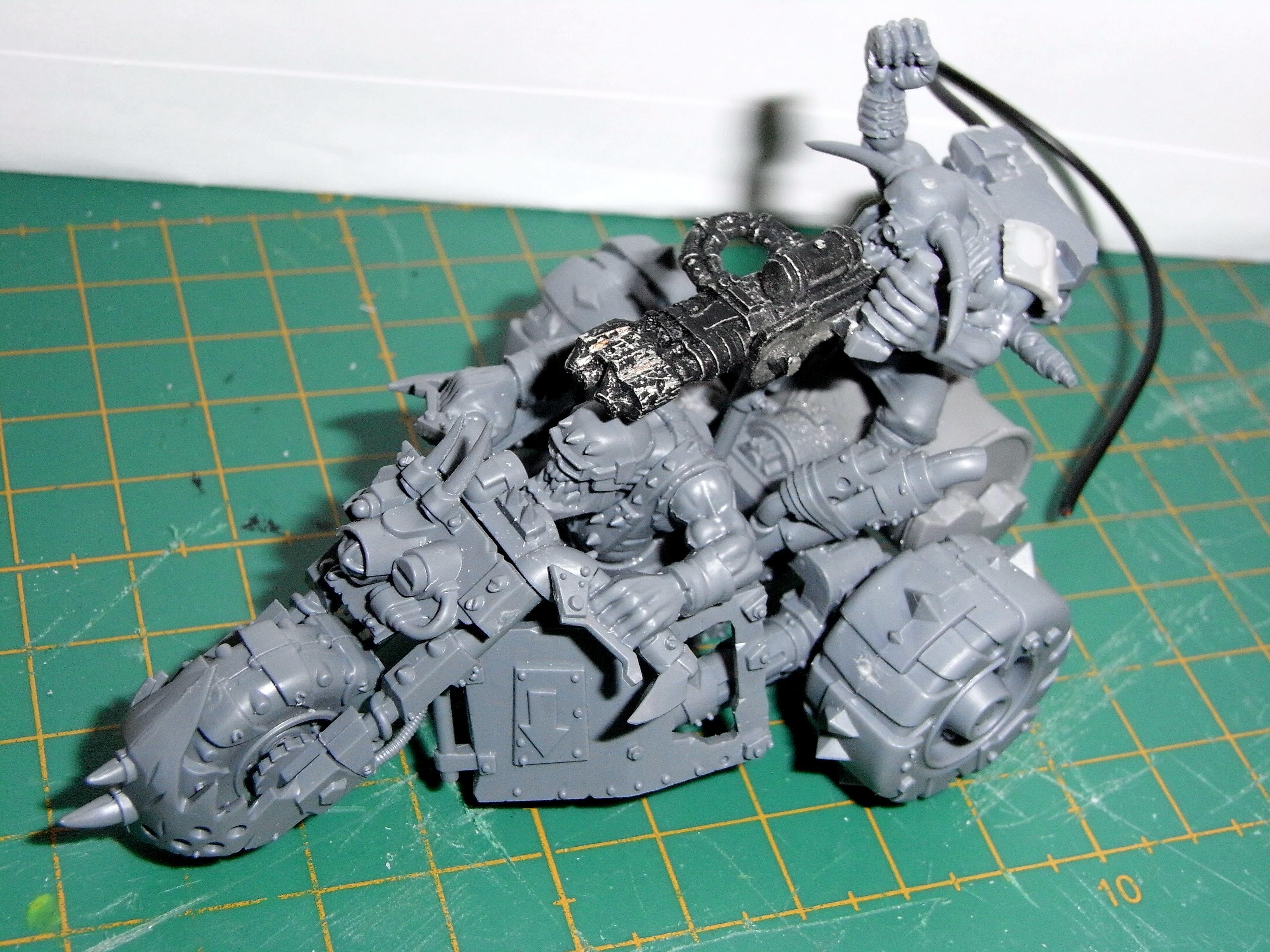 3 Wheeled, Burna Boyz, Orks, Skorcha, Warbike, Warbuggy, Wartrakk, Work In Progress
