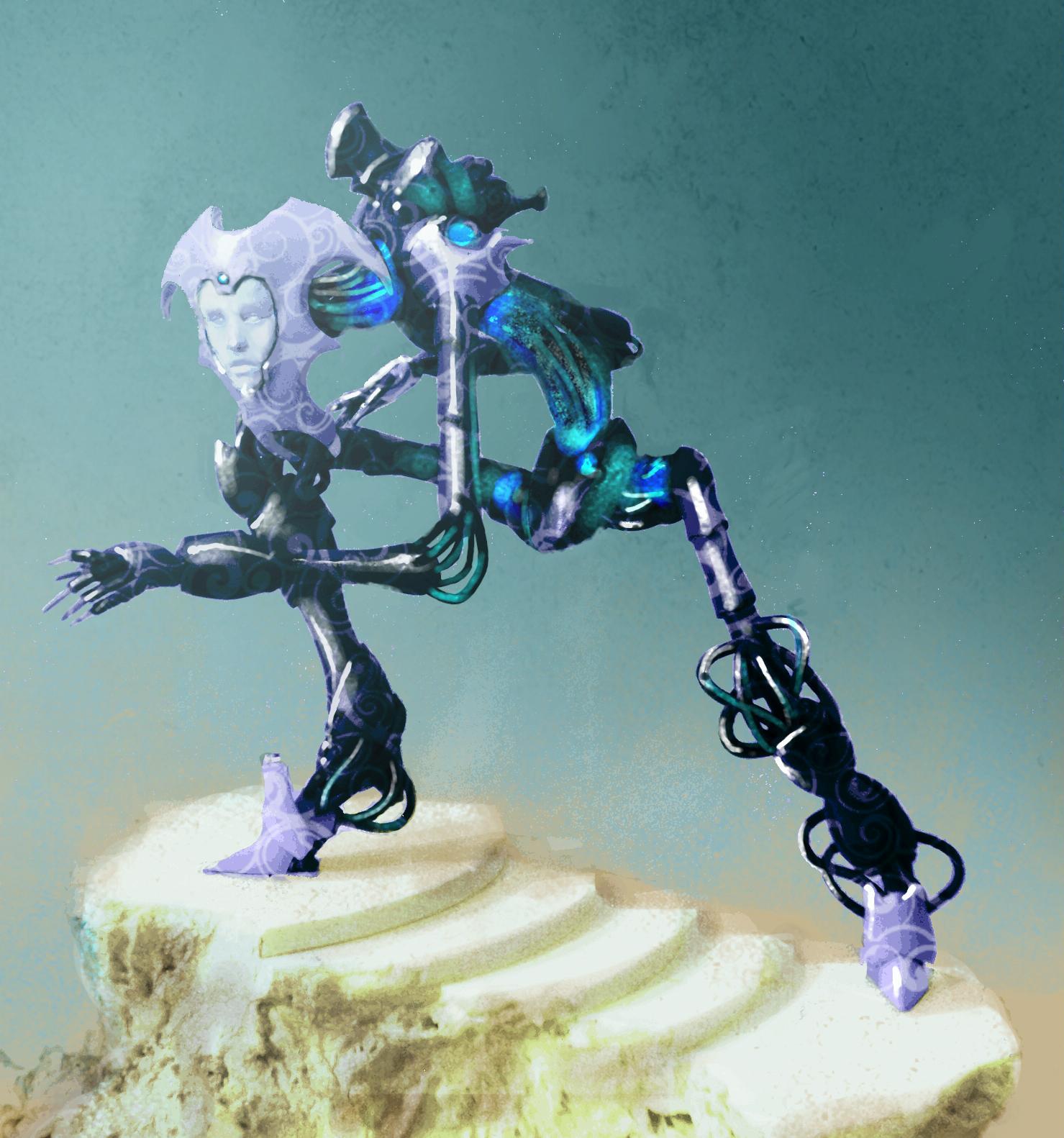 Conversion, Eldar, Wraithlord
