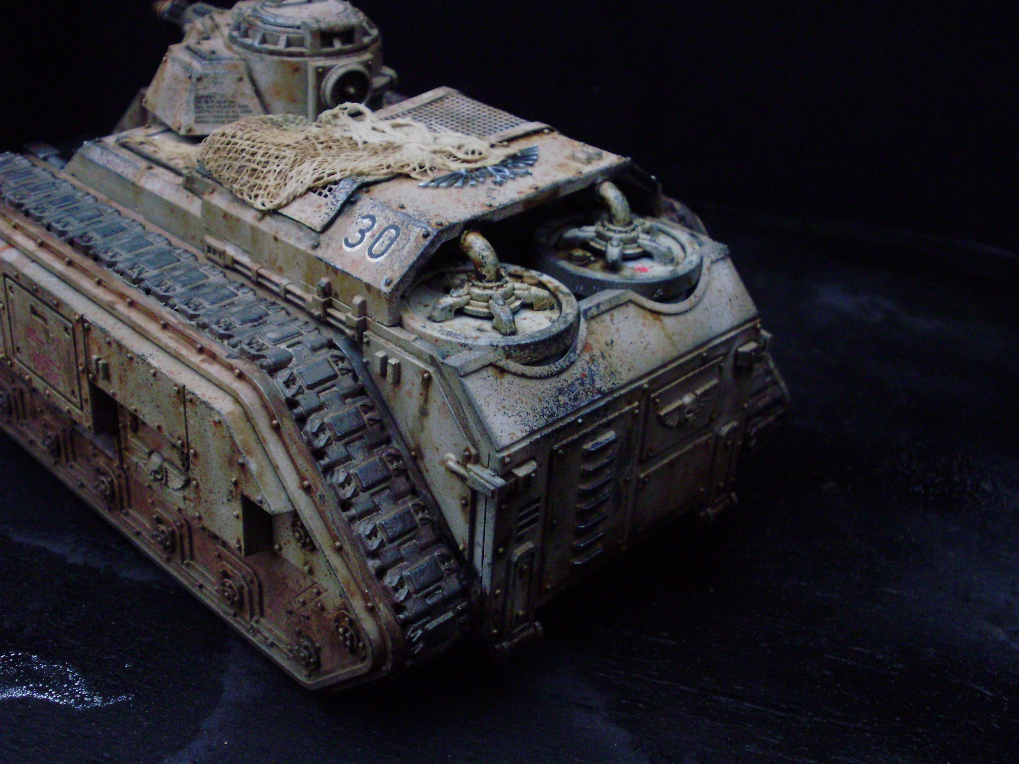 Hellhound, Imperial Guard, Tank, Weathered