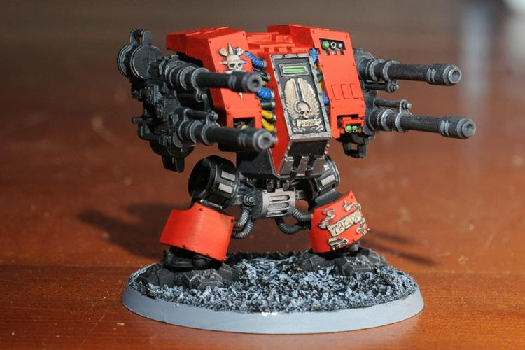 Autocannon, Dreadnought, Rifleman Dreadnought, Twin-linked Autocannons