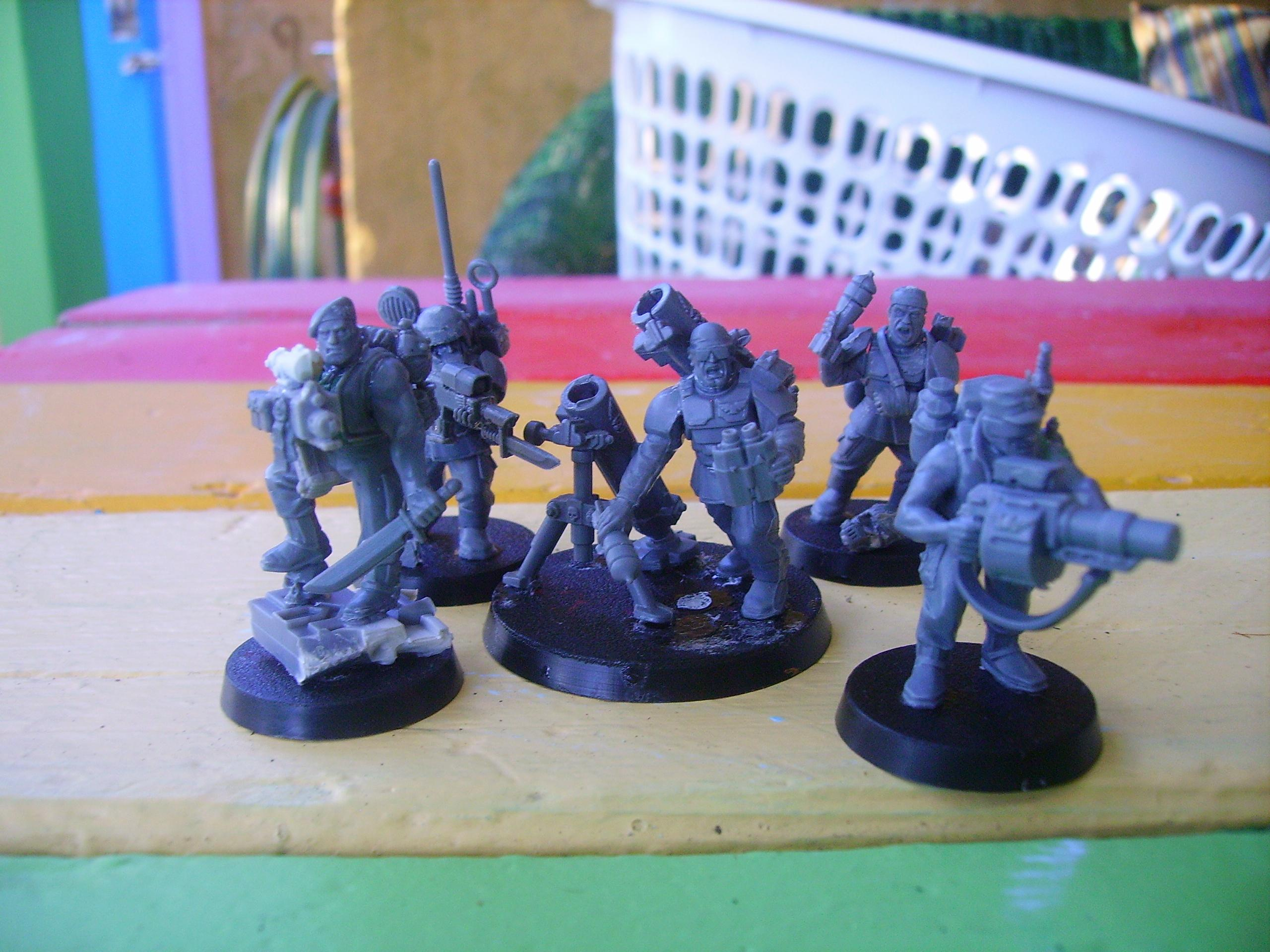 Guard, platoon command