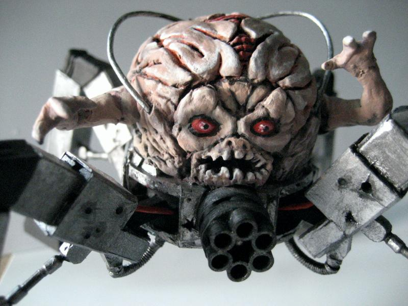 Brain, Cyborg, Daemons, Doom, Spider, Tyranids