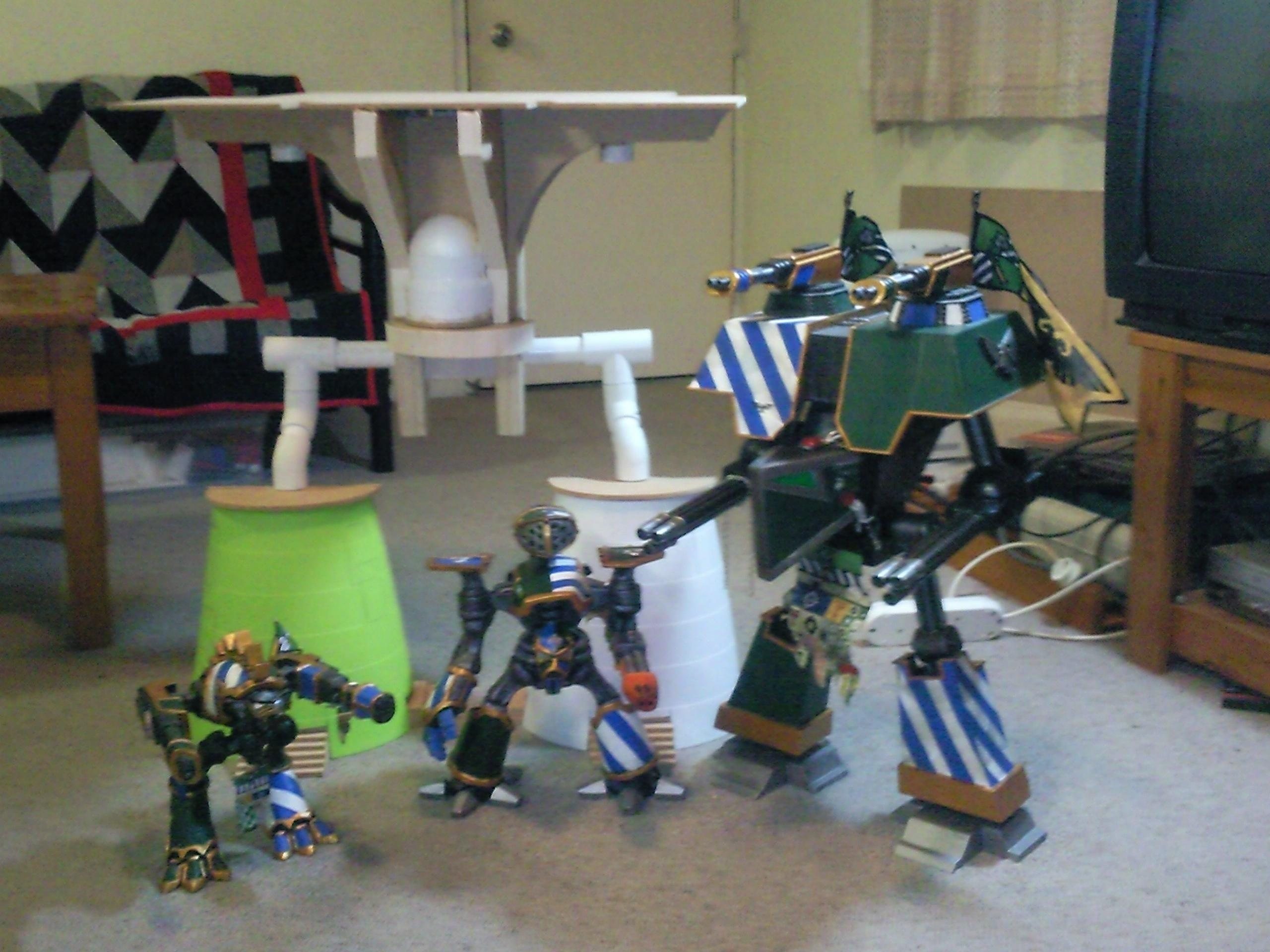 Emperor Titan, Imperiator, Reaver, Titan, Warhound, Warlord