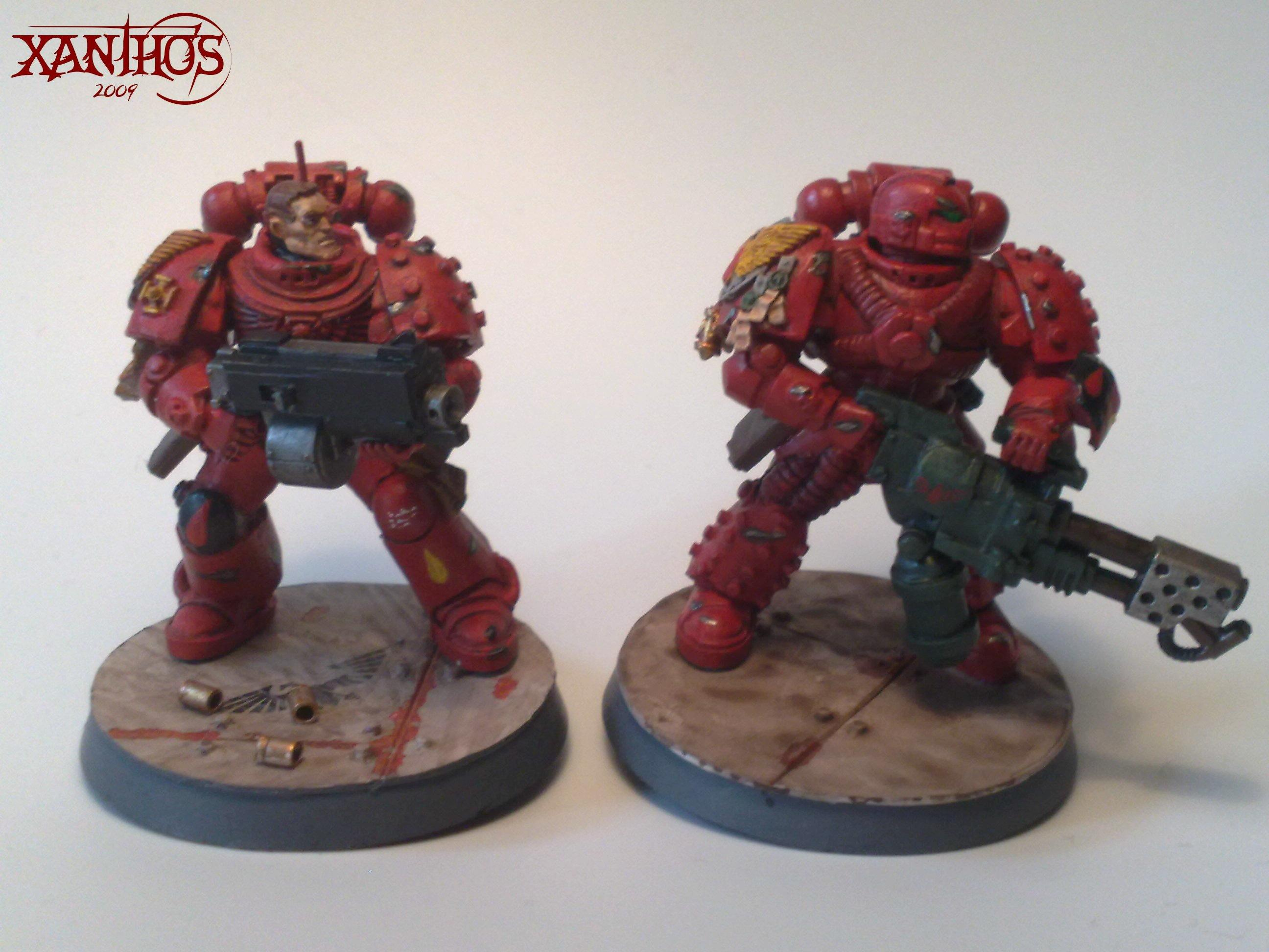 Blood Angels, True Scale