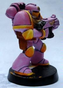 Chapter Badge, Space Marines, Sunpigs