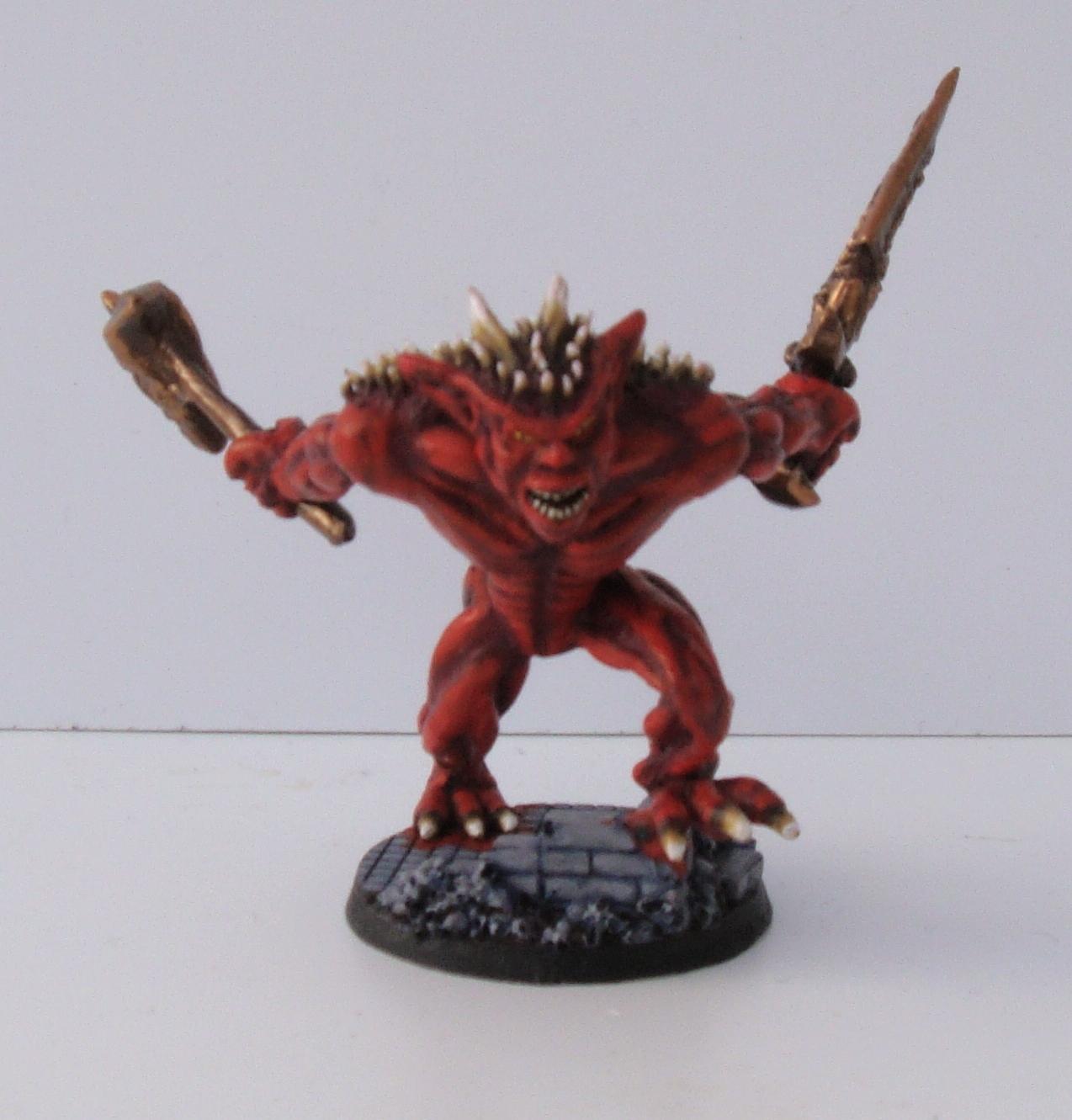 Daemon Prince, Sculpting