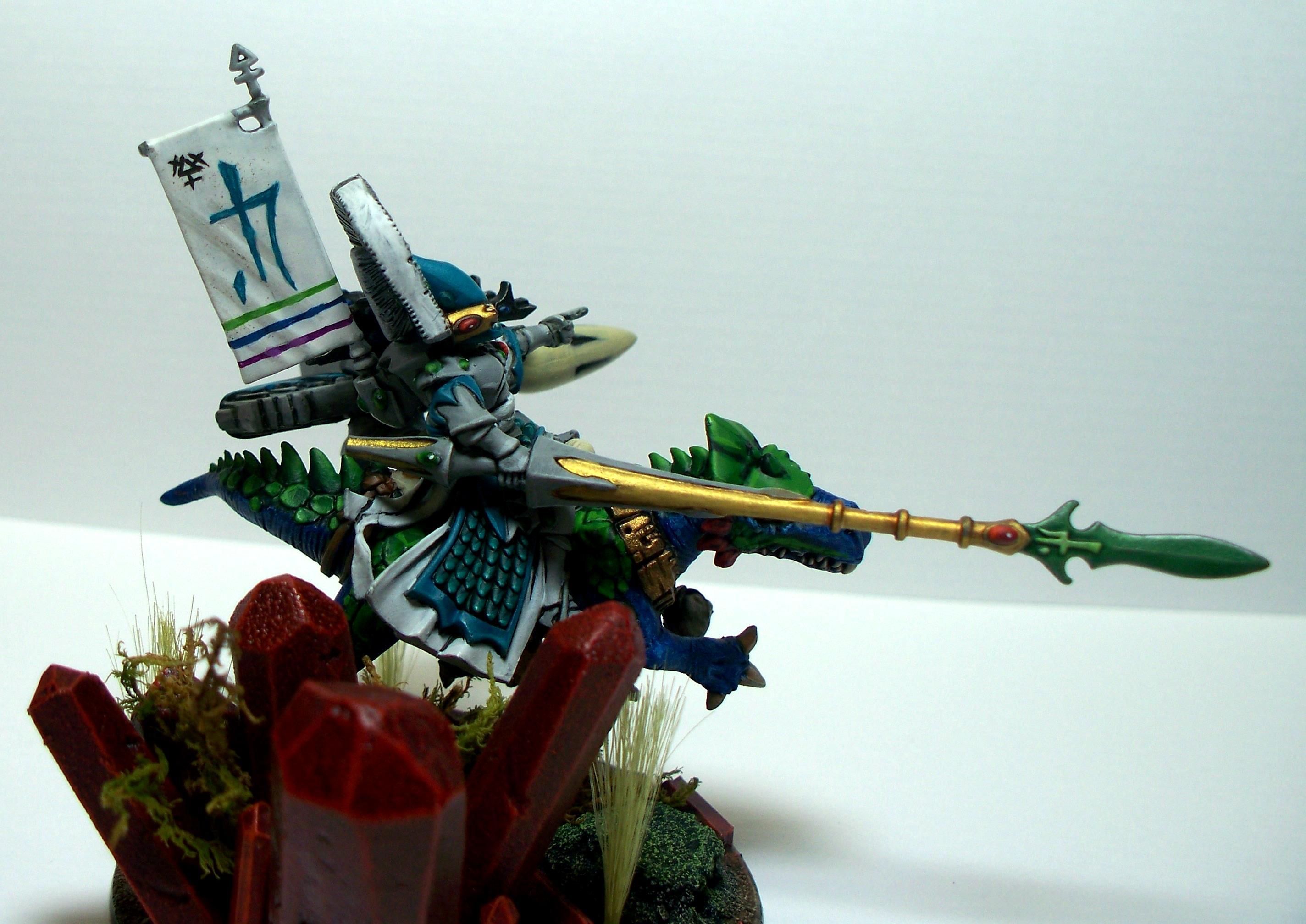 Autarch, Dragon Knight, Dragon Lord, Eldar, Exodites, Warhammer 40,000
