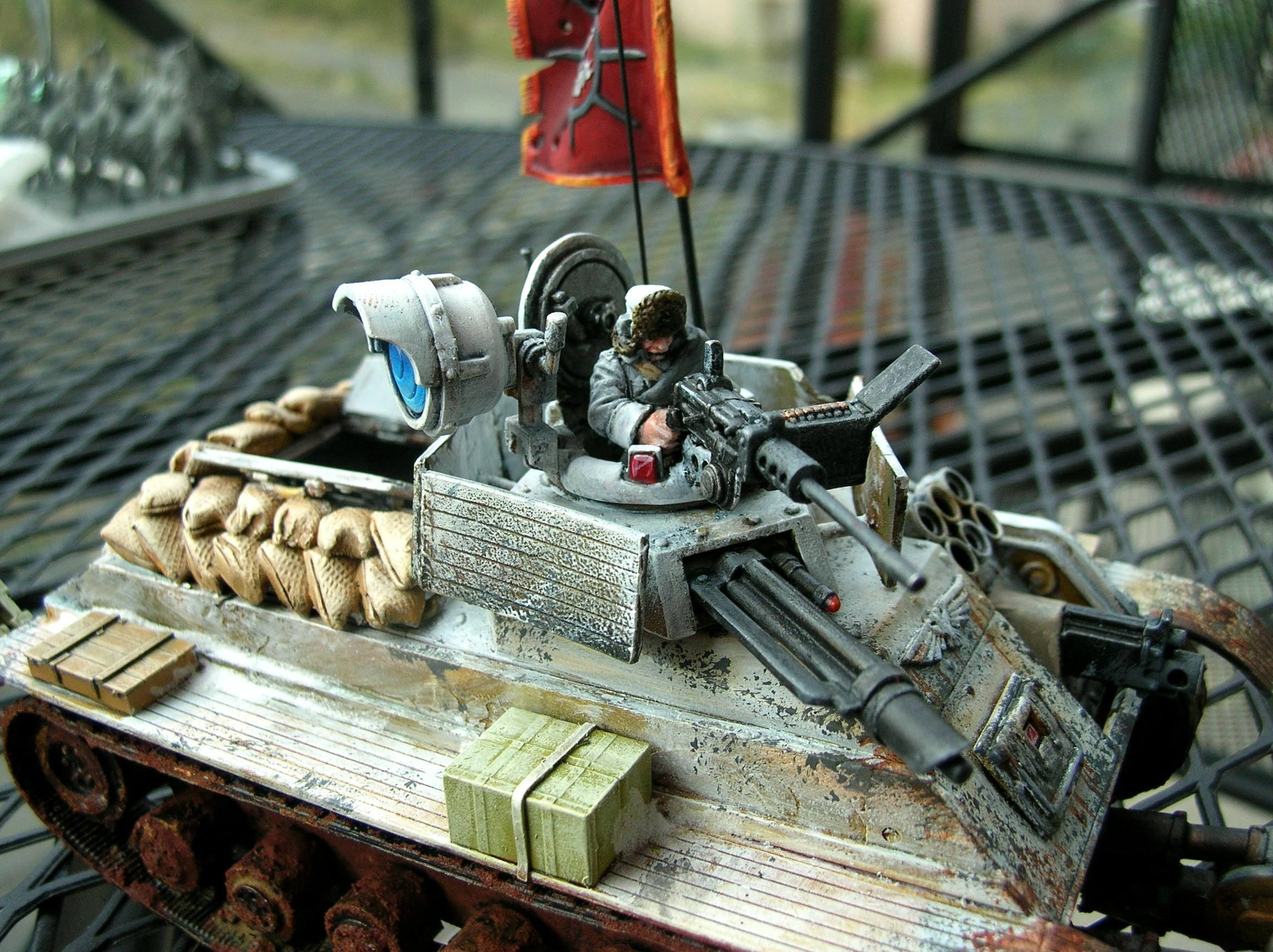Chimera, Imperial Guard, Russians, Valhallans, Weathered