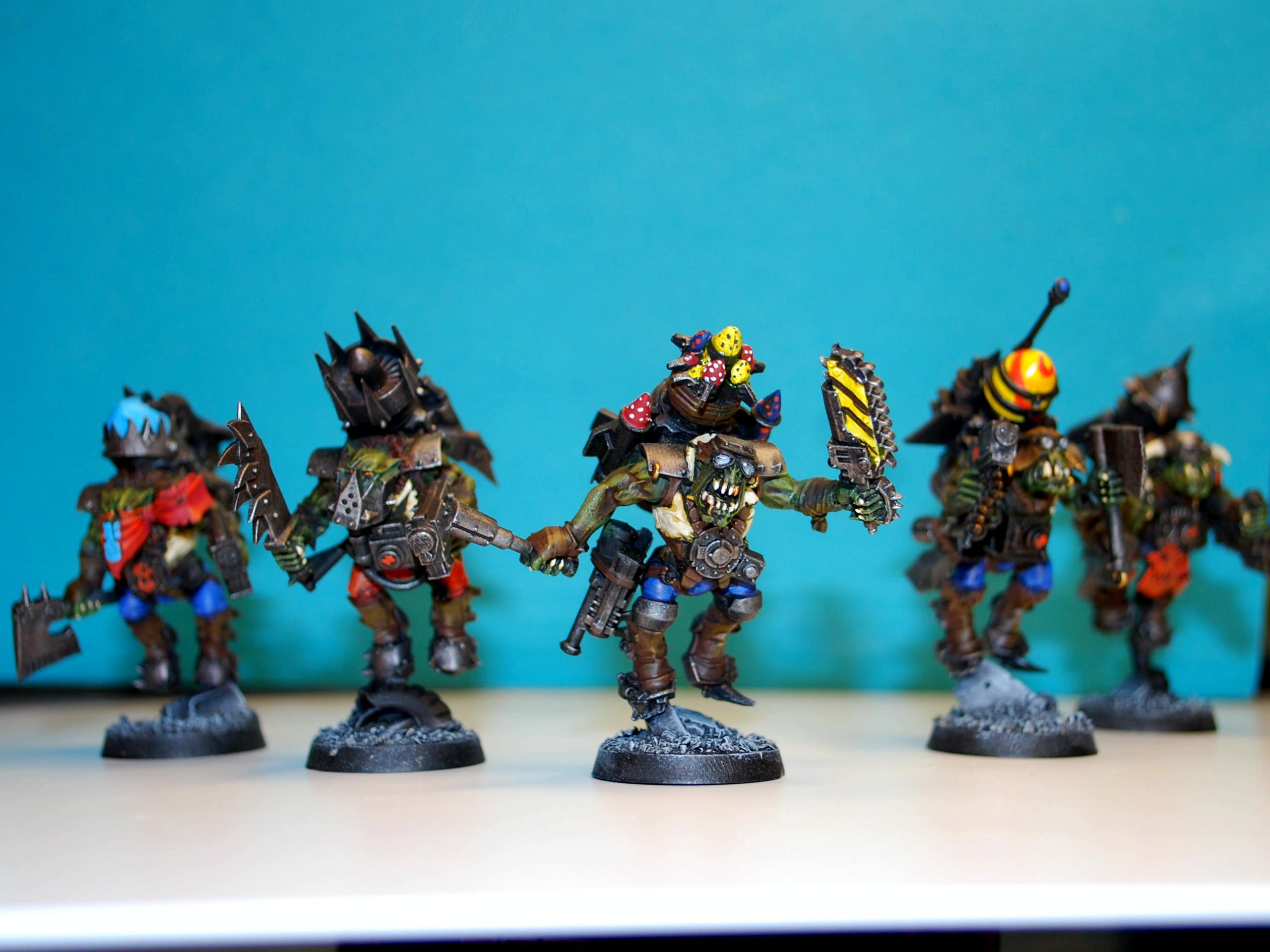 Orks, Storm Boyz, Warhammer 40,000