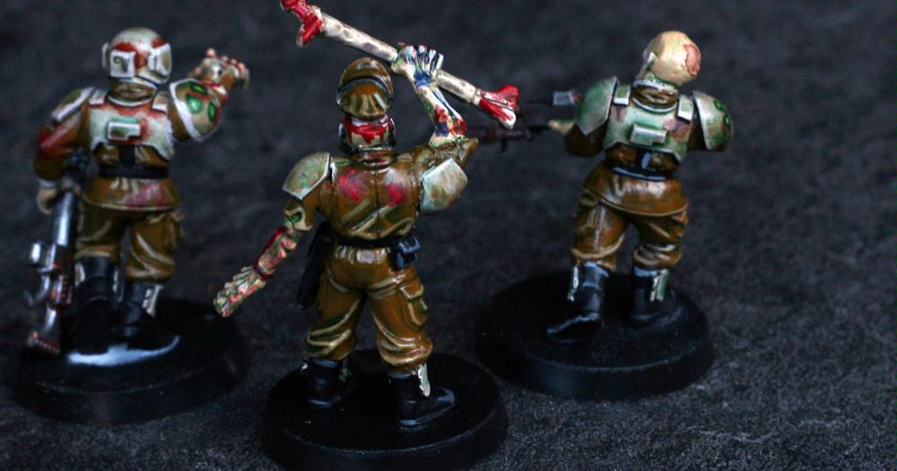 Chaos, Corrupt, Guardsmen, Imperial Guard, Nurgle, Warhammer 40,000, Zombie