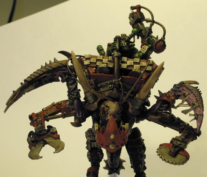 Carnifex, Conversion, Looted, Looted Vehicle, Orks, Tyranid Abuse, Tyranids