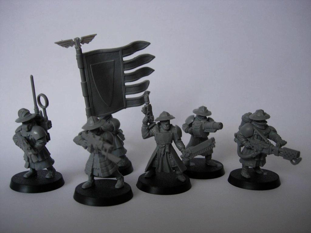 Bash, Bretonnians, Guard, Imperial, Kit