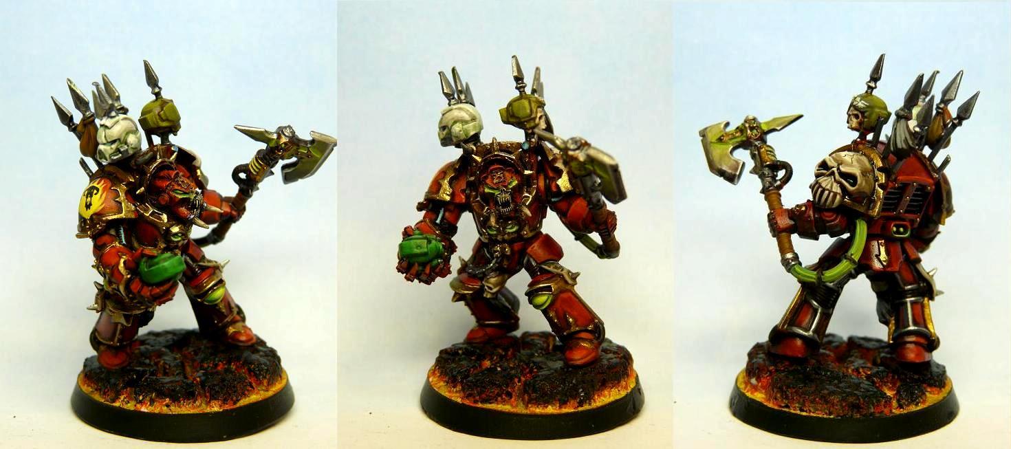 Chaos Space Marines, Terminator Armor, Word Bearers, World Eaters