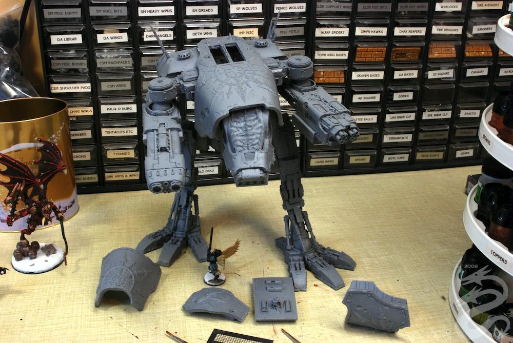 Chaos, Titan, Warhammer 40,000, Work In Progress