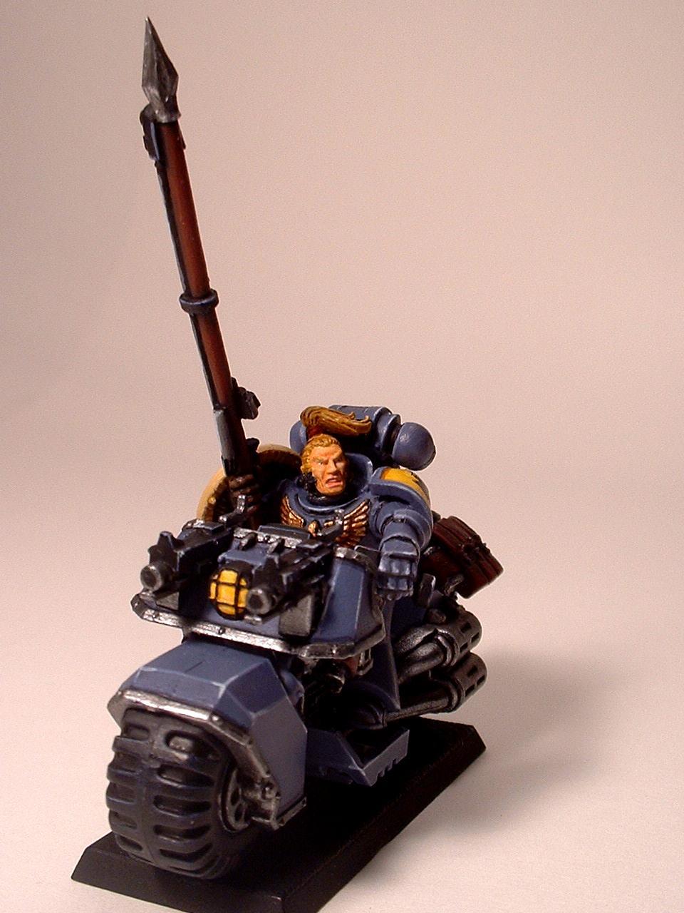 Blood Claw, Space Marine Bike, Space Wolves, Swift Claw, Warhammer 40,000