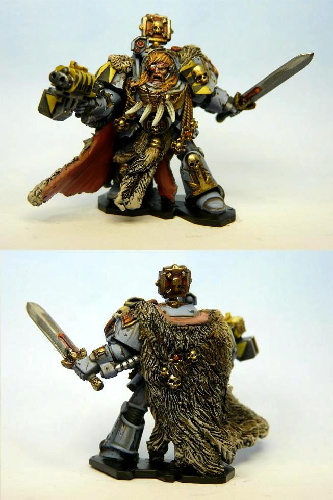 Space Hulk, Space Marines, Space Wolves, Terminator Armor, Wolf Guard