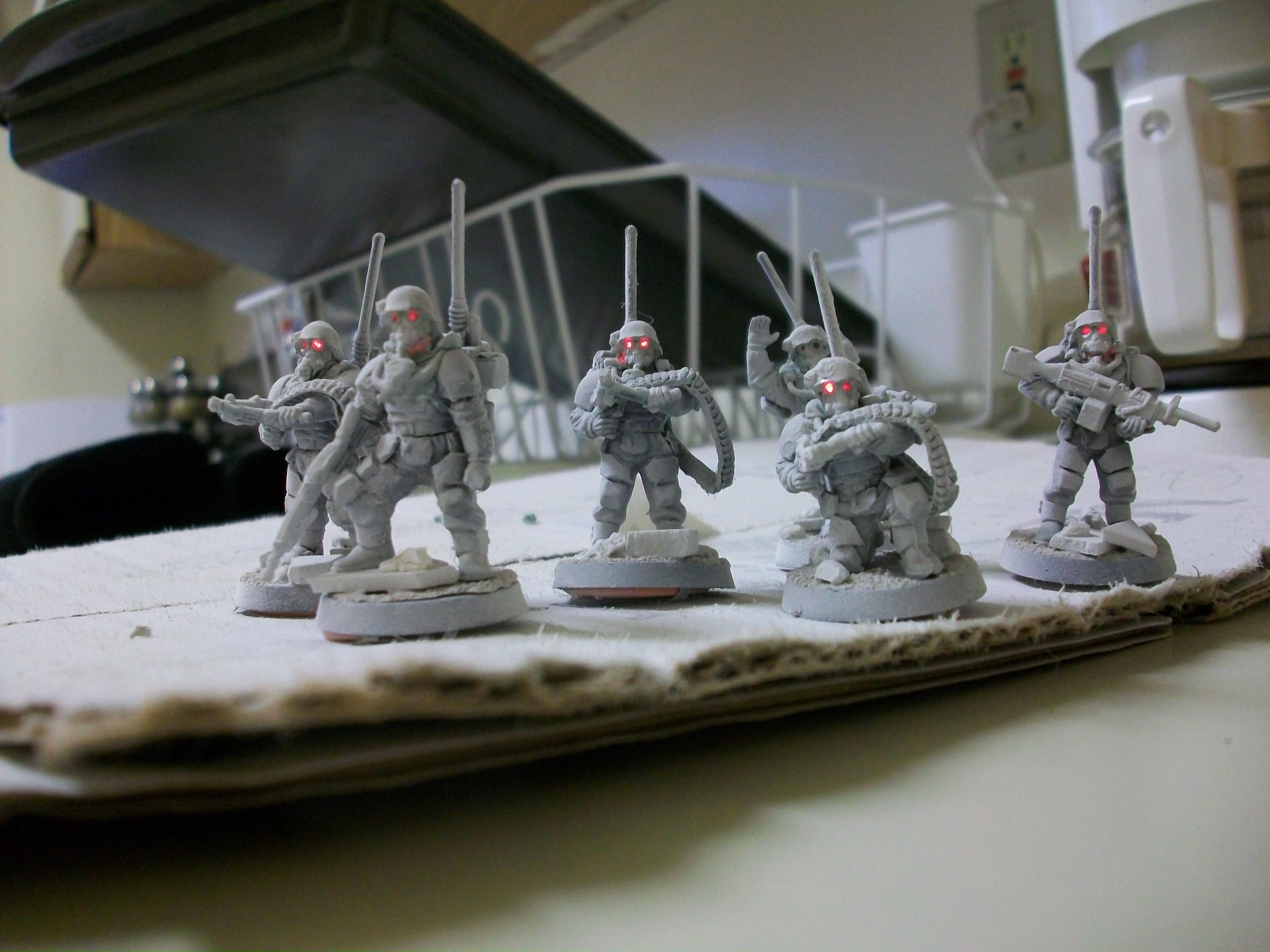 Imperial Guard, LED, Storm Troopers