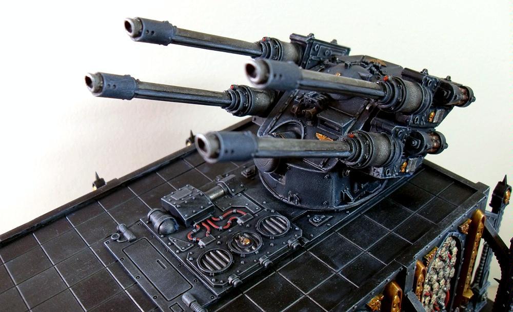 Autocannon, Battery, Hydra, Leviathan