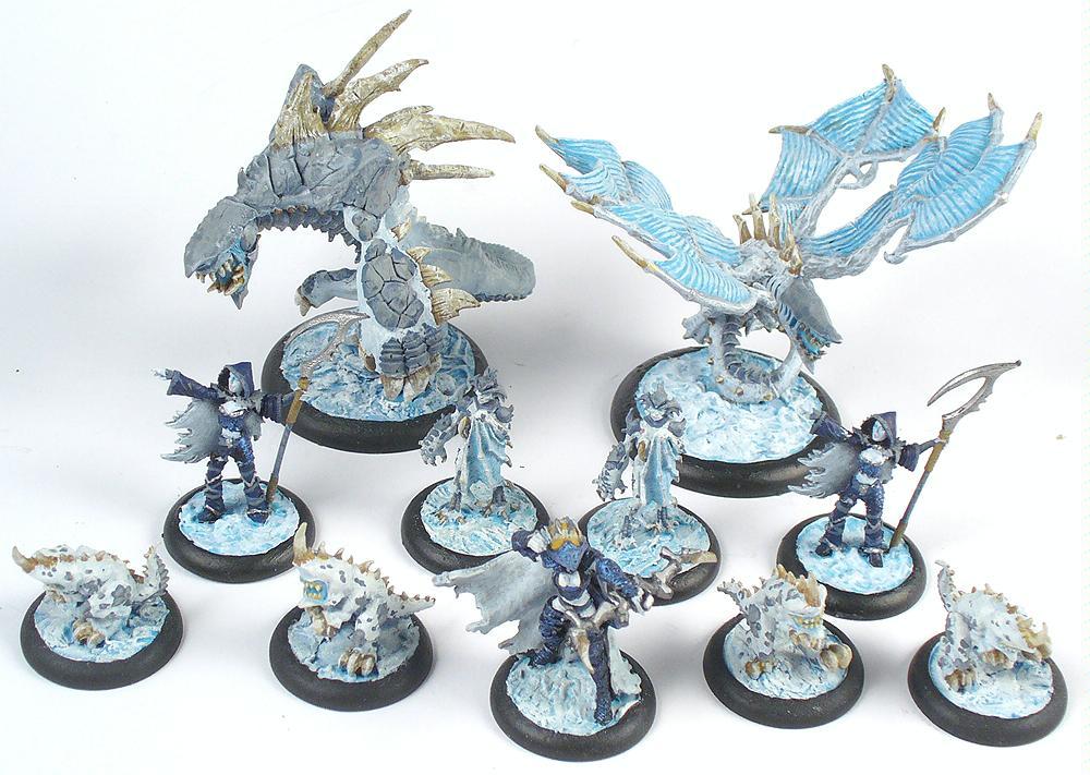 Elves, Everblight, Hordes, Legion, Nyss, Privateer Press, Warbeasts, Warlock