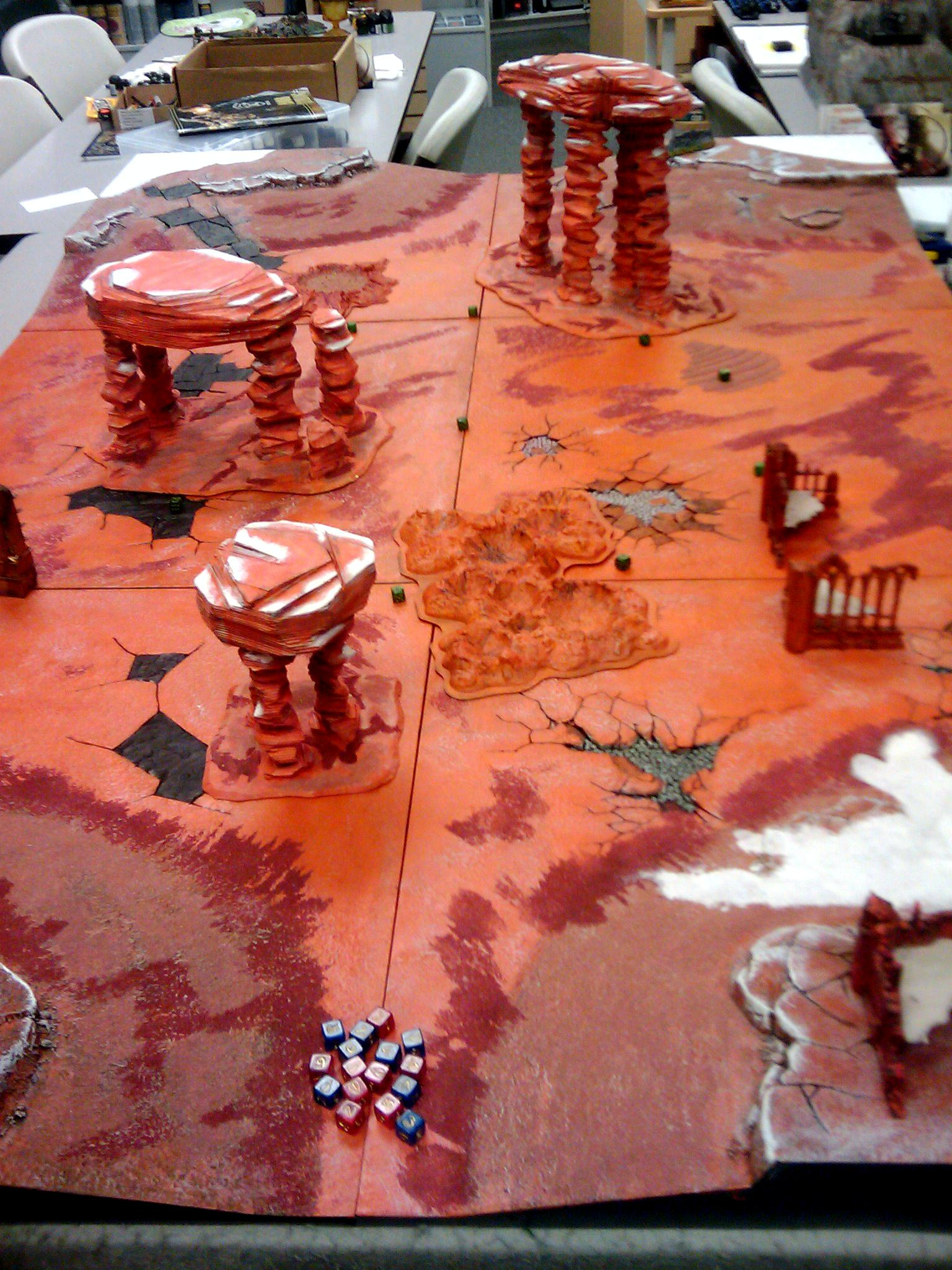 Mars, Realms Of Battle, Terrain