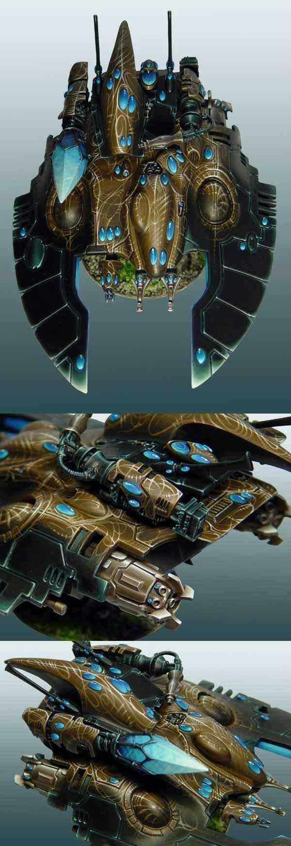 Awesome, Eldar, Falcon, Fire Prism, Warhammer 40,000