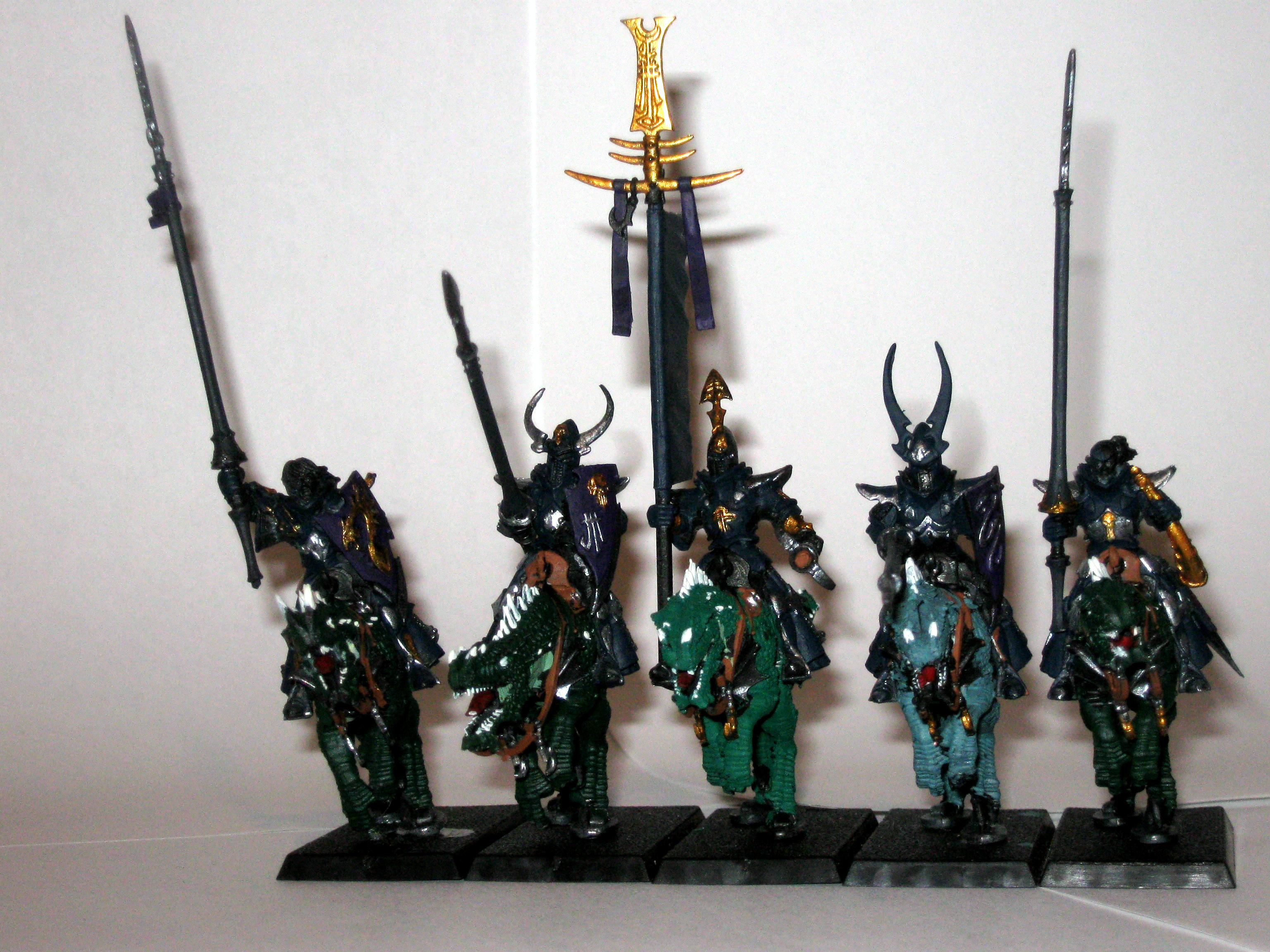 Cold One, Dark Elves, Knights