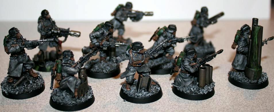 Death Korp Of Krieg, Death Korps of Krieg, Imperial Guard, Warhammer 40,000