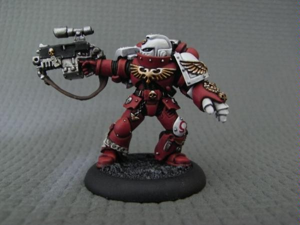 Bolter, Orar, Power Fist, Red, Sons, Space Marines, Squad, Sternguard, Veteran, Warhammer 40,000, White
