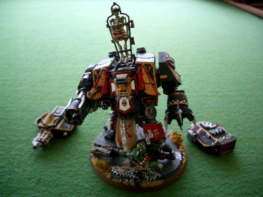 Dreadnought, Space Marines, Templars, Warhammer 40,000, Warhammer Fantasy