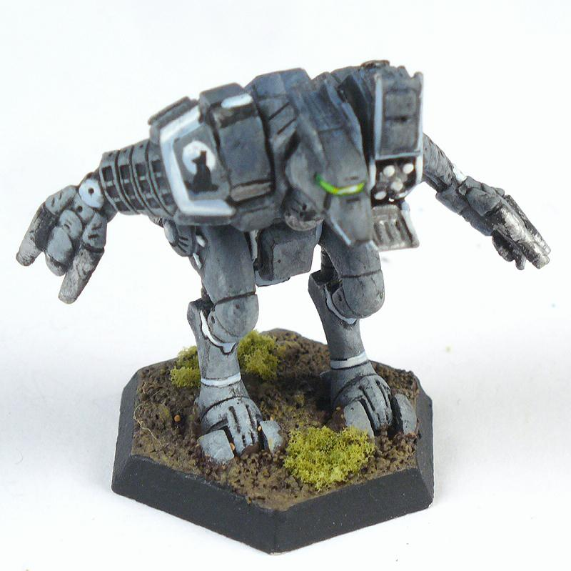 Battletech, Clan, Mech, Rabid Coyote