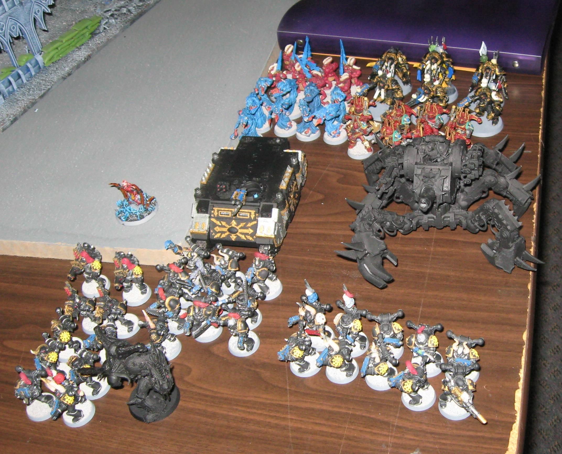 Battle Report, Black Legion, Chaos, Daemons