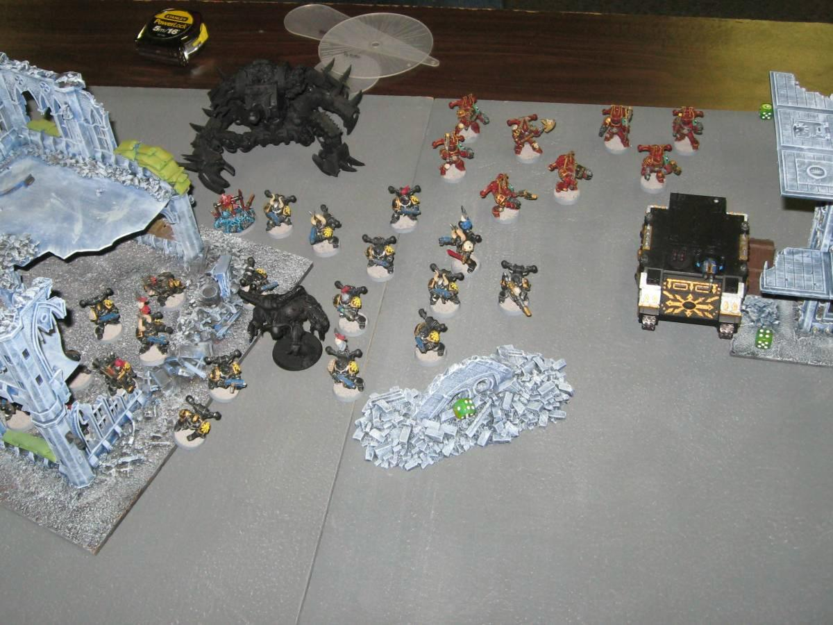 Battle Report, Black Legion, Chaos, Daemons