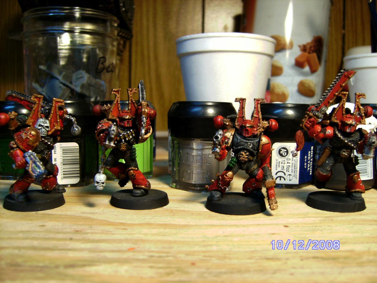 Berserkers, Chaos Space Marines, Khorne