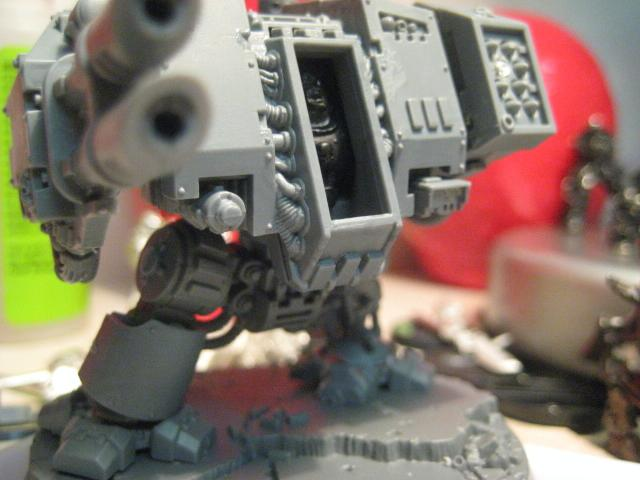 Dreadnought, Grey, Knights, Space, Space Marines