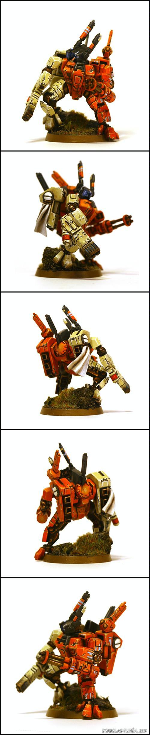 Crisis Battlesuit, Hunter Cadre, Sept, Tau, Tau Empire