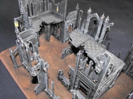 Buildings, Cities Of Death, Drybrushing, Warhammer 40,000