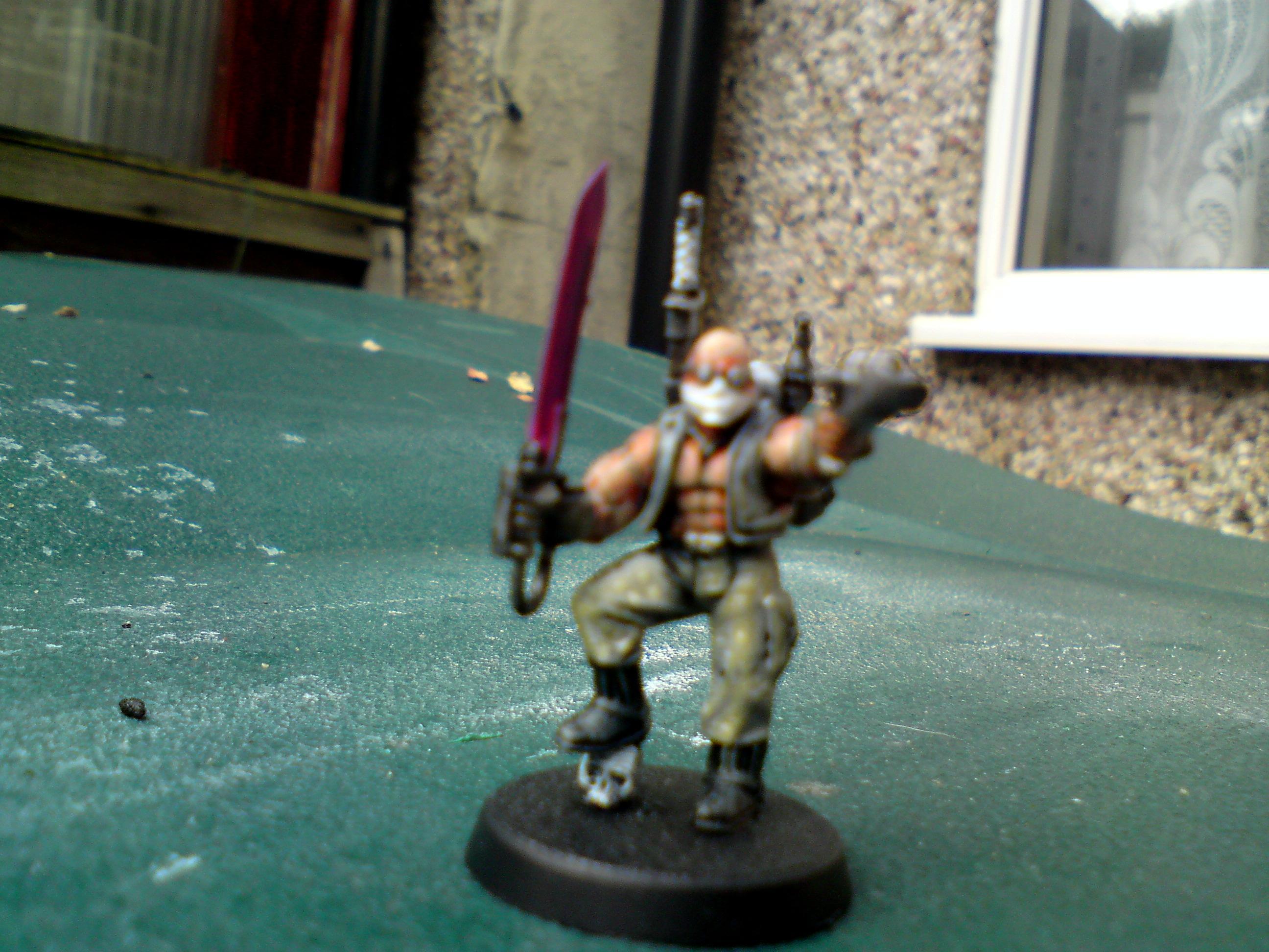 Blurred Photo, Junior Officer, Warhammer 40,000