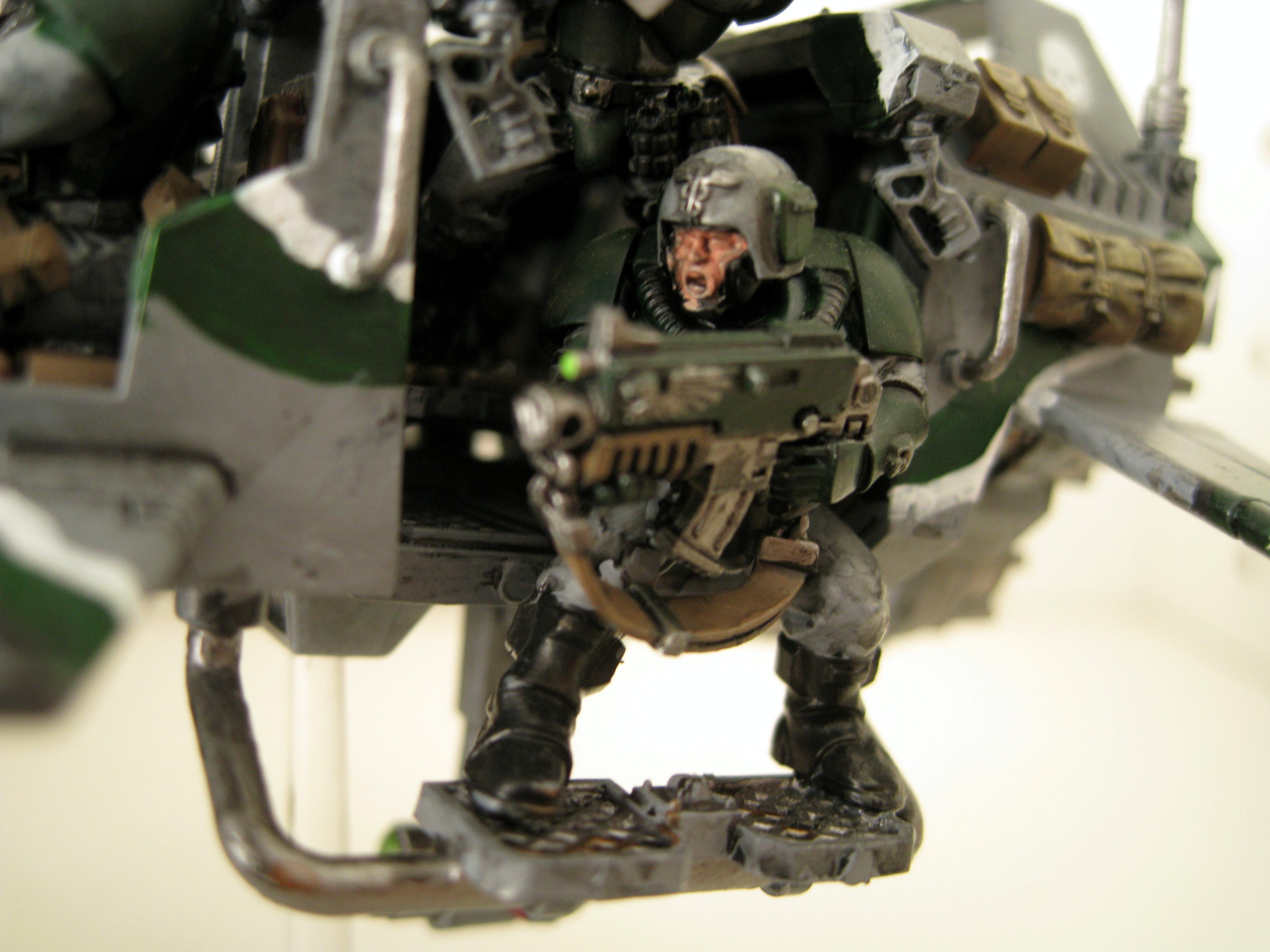 Cadians, Imperial Guard, Land Speeder Storm