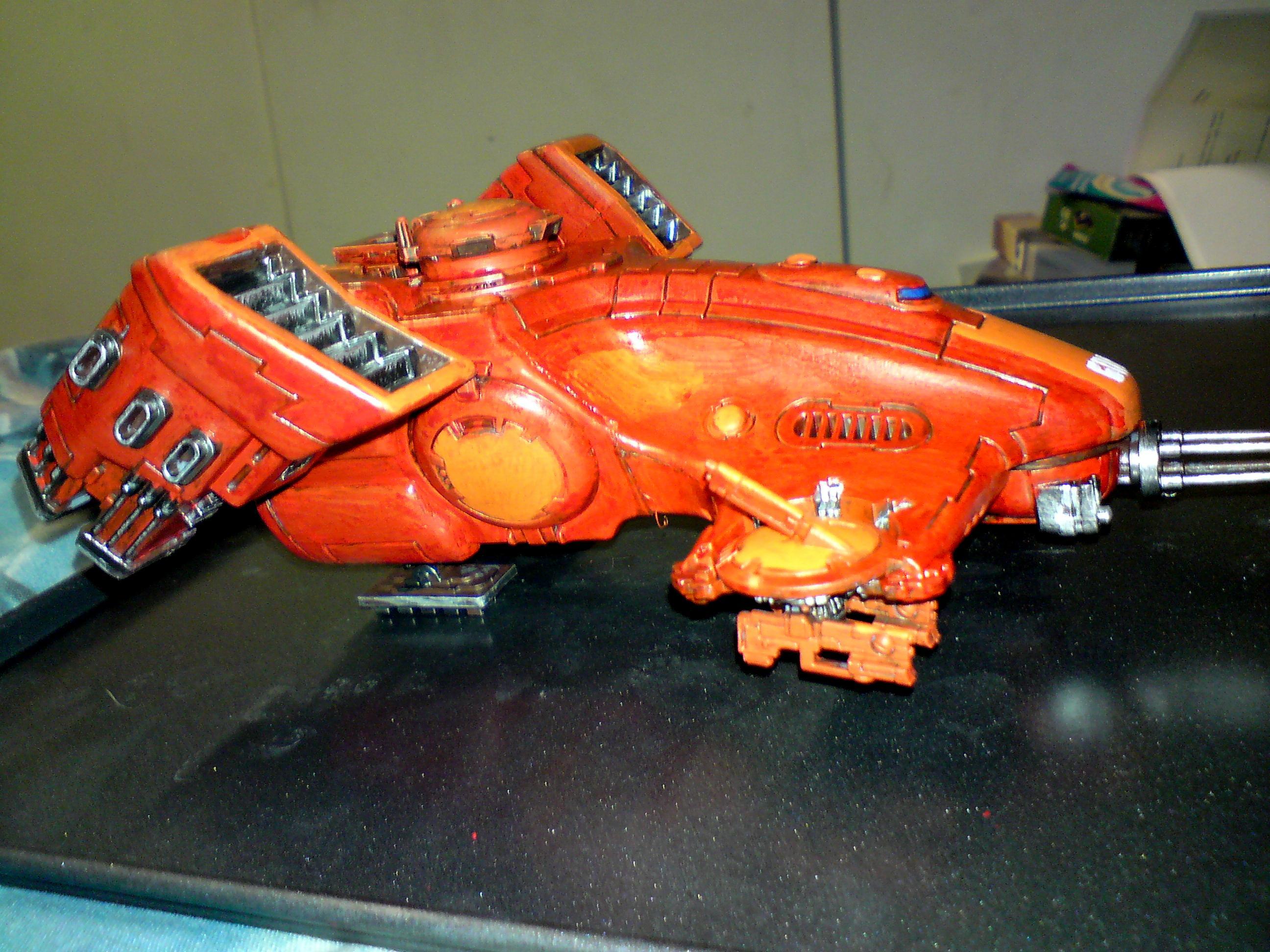 Devilfish, Skimmer, Tank, Tau, Warhammer 40,000, Warhammer Fantasy