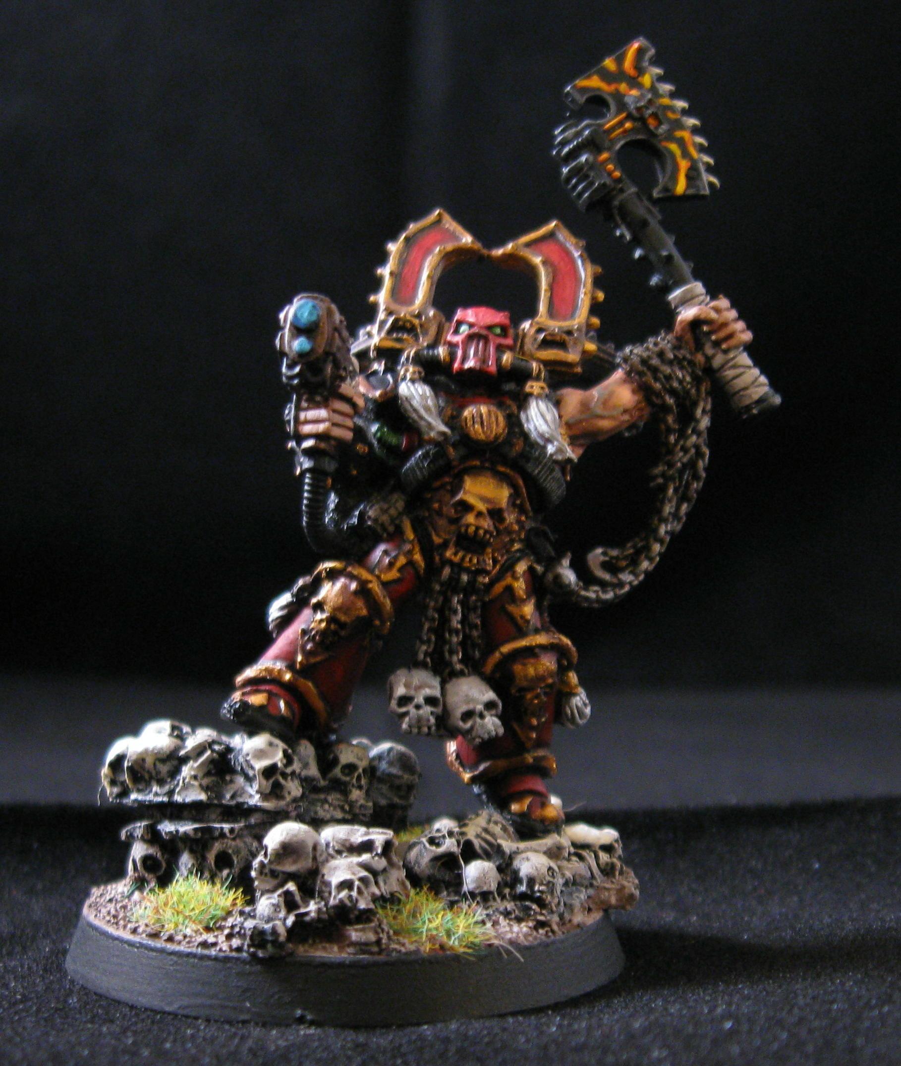 Betrayer, Blood, Chaos, Chaos Space Marines, Character, Kharn, Khorne, Skull, Warhammer 40,000