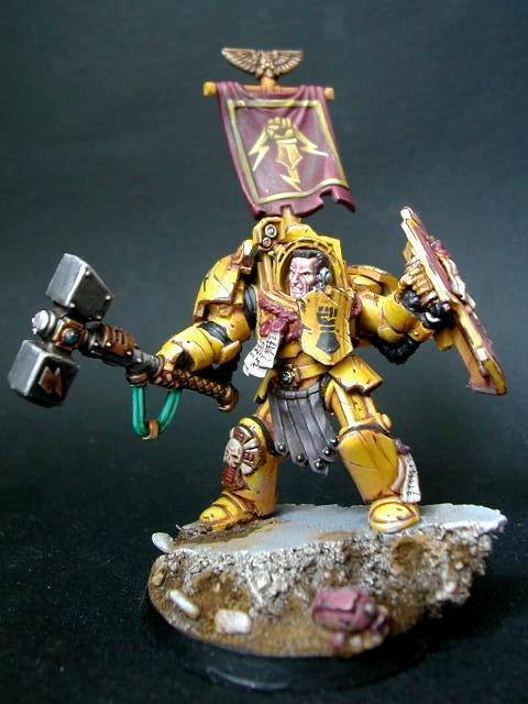 Imperial Fists, Lysander, Scenic, Space Marines, Warhammer 40,000