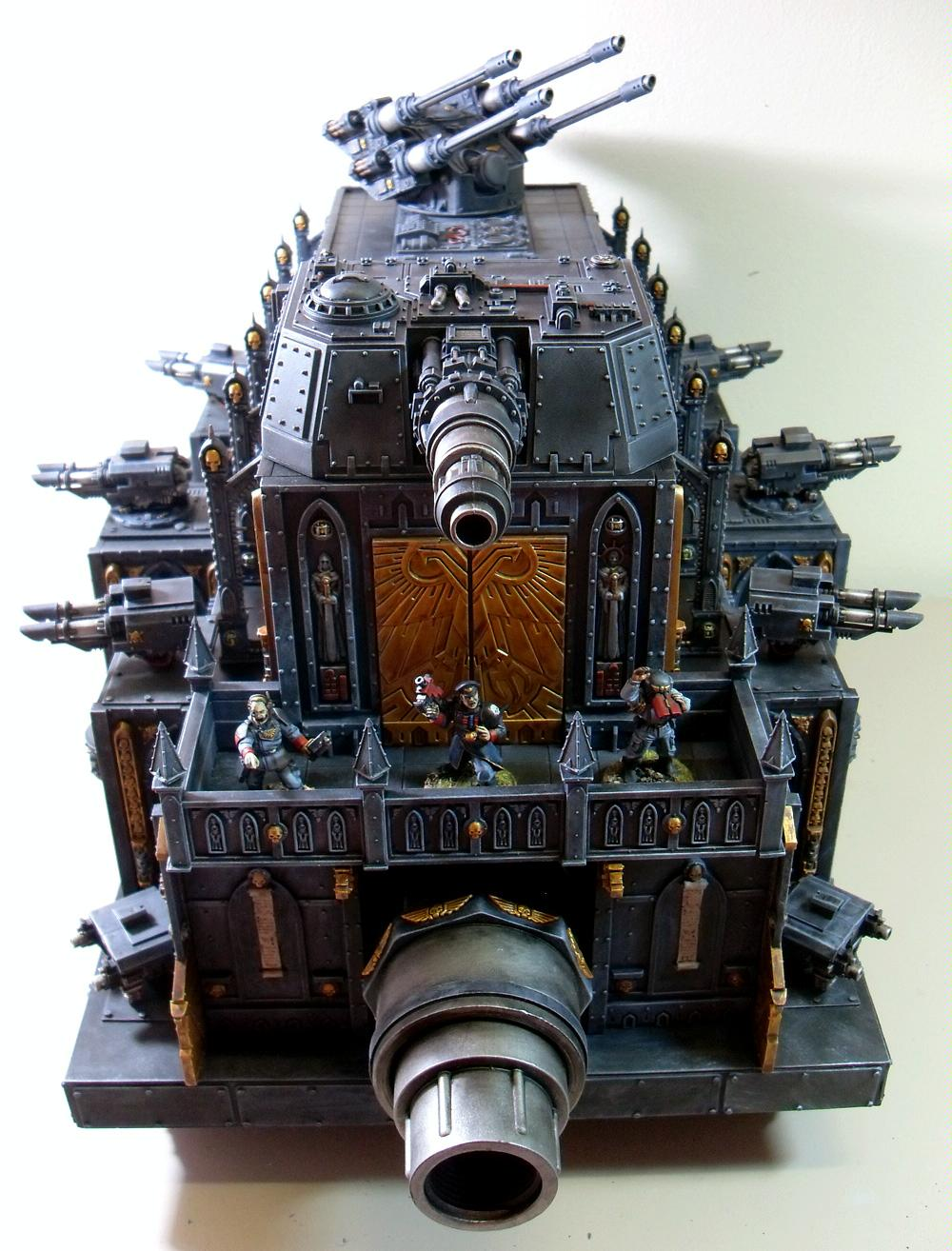 Command, Imperial Guard, Leviathan, Super-heavy, Tank, Warhammer 40,000