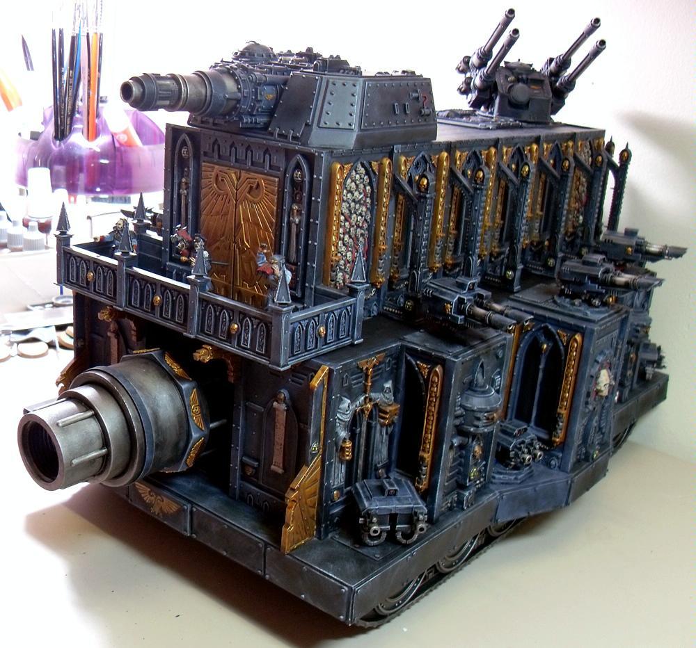 Apocalypse, Imperial Guard, Leviathan, Scratch Build, Super-heavy