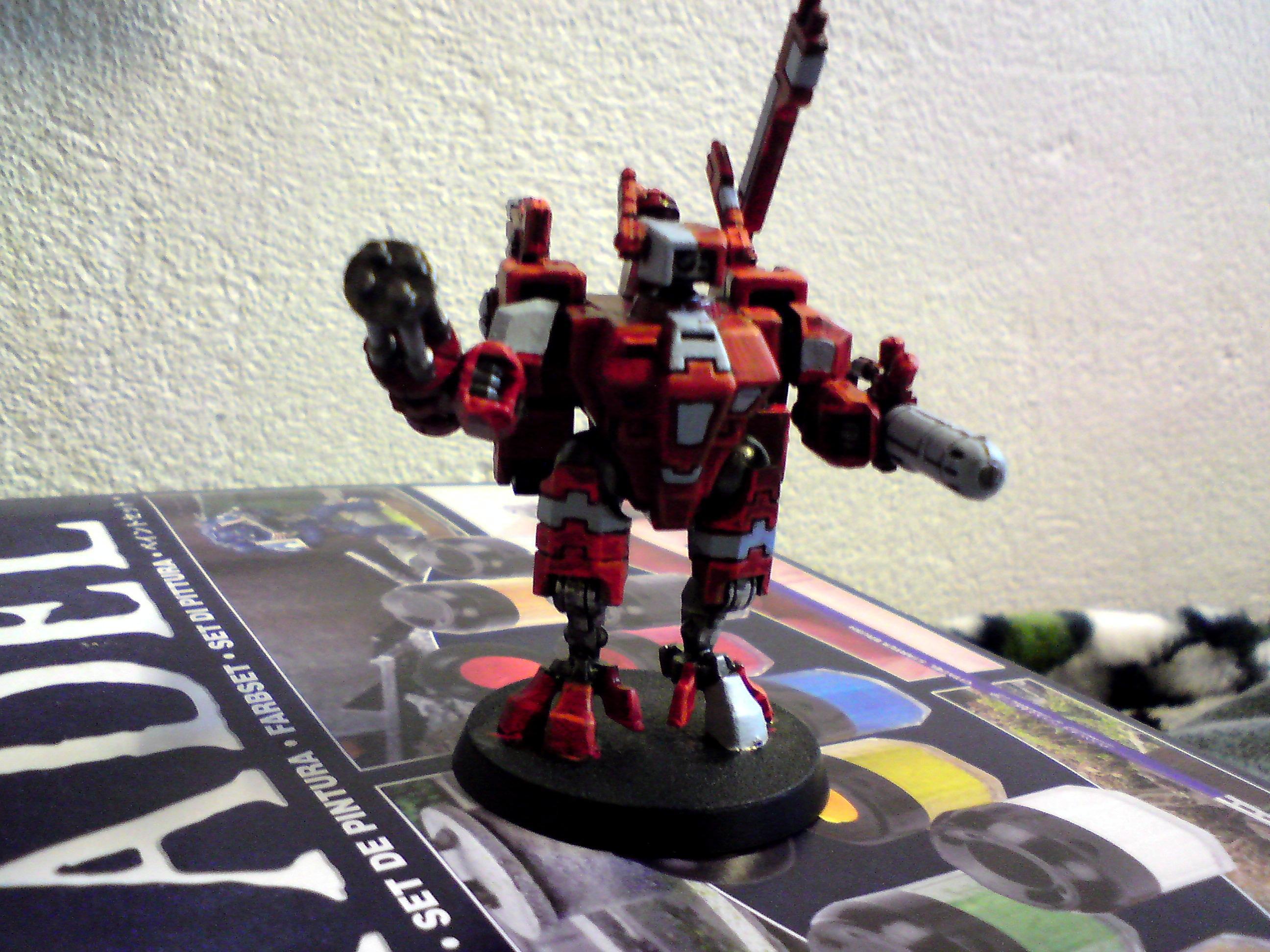 Tau, Commander Red Nova