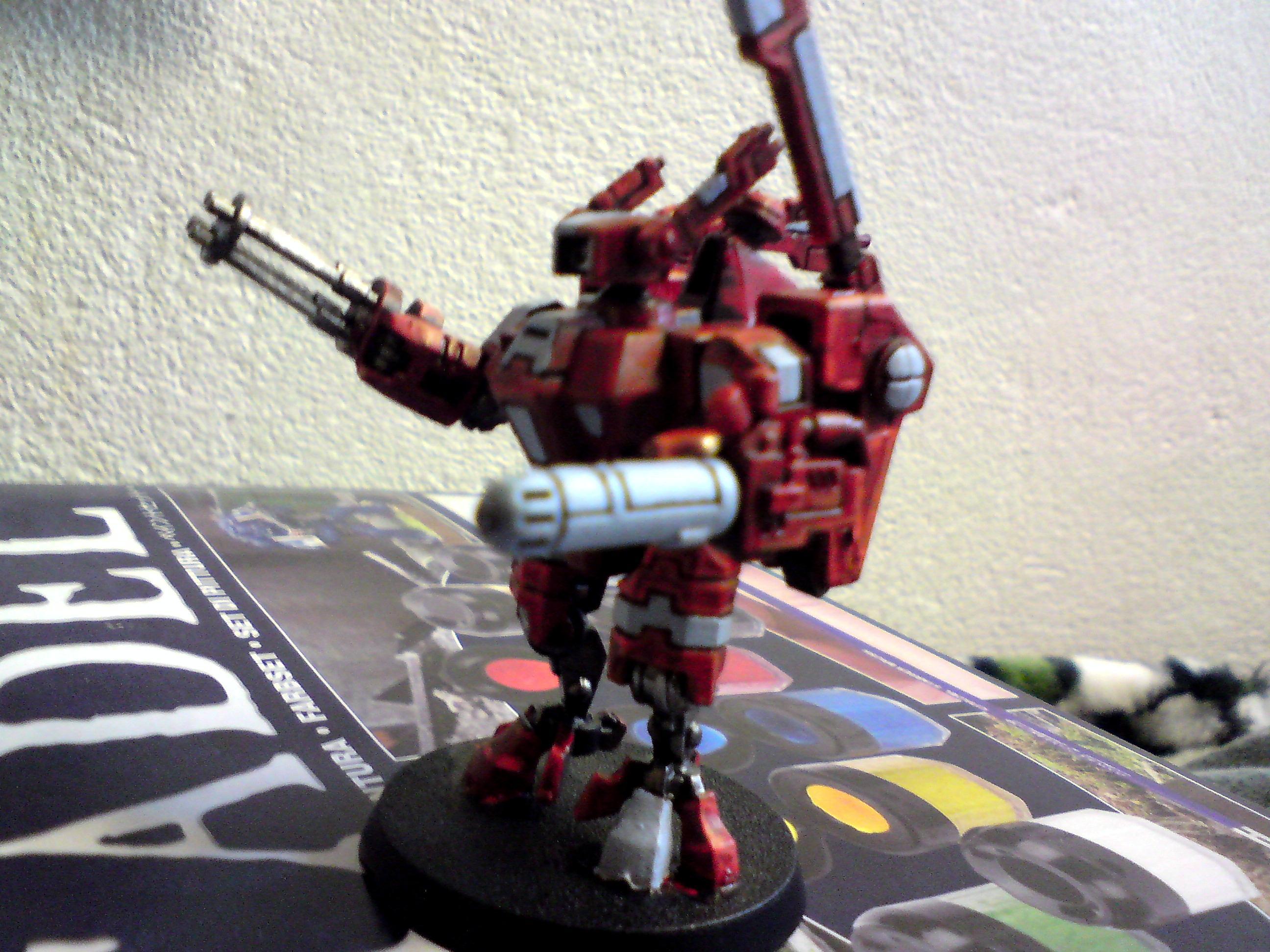 Commander, Crisis Battlesuit, Tau