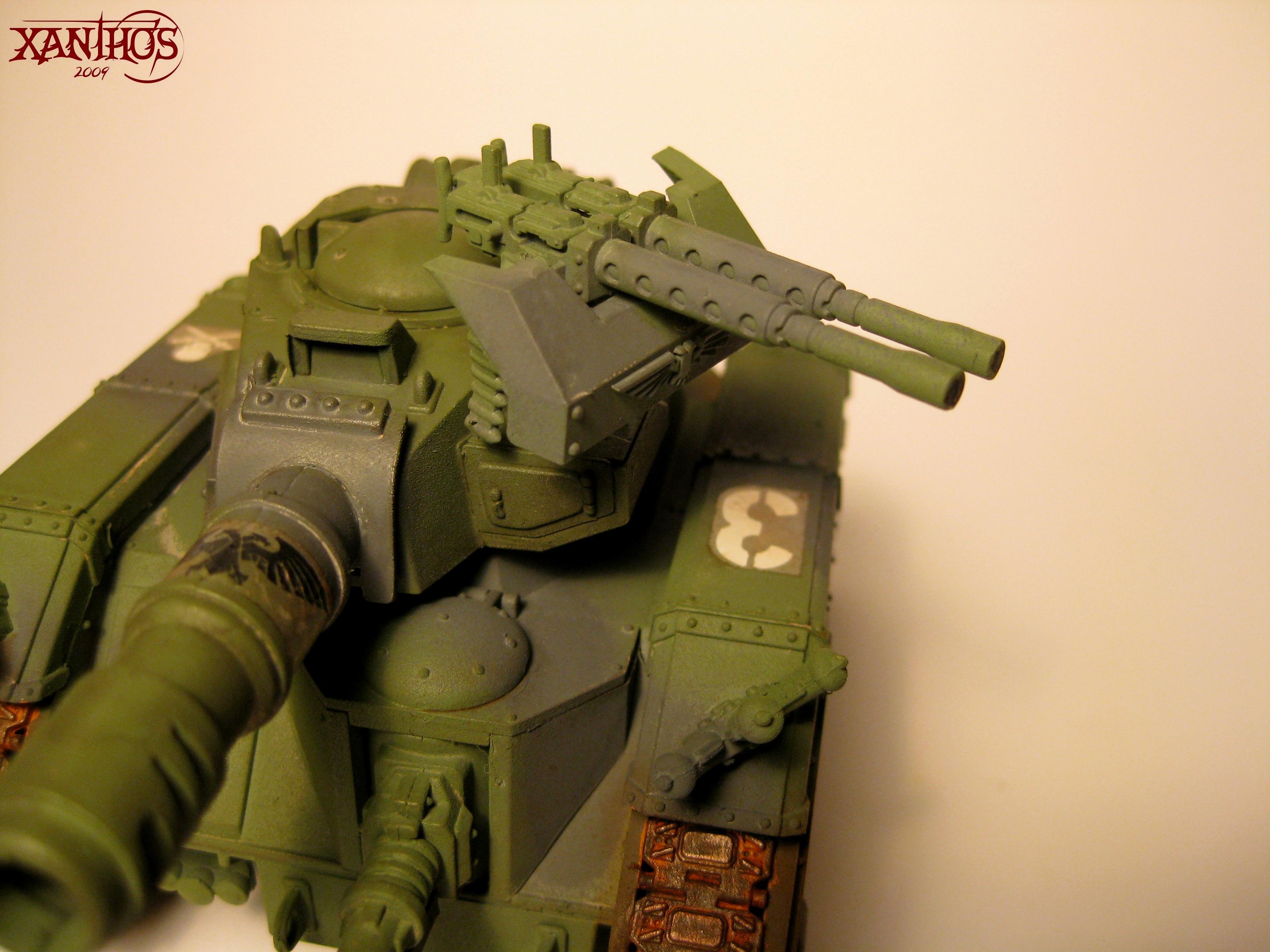 Imperial Guard, Leman Russ, Stubber, Warhammer 40,000